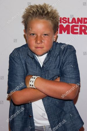 "Jackson Nicoll attends the premiere of ""Staten Island Summer"" at the Sunshine Landmark Theater, in New York"