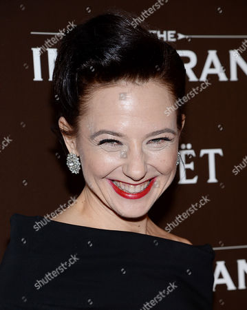 """Maja Wampuszyc attends the premiere of """"The Immigrant"""" hosted by The Weinstein Company with Dior and Vanity Fair at The Paley Center, in New York"""