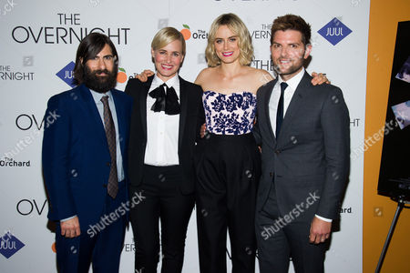 """Editorial image of NY Premiere Of """"The Overnight"""", New York, USA"""