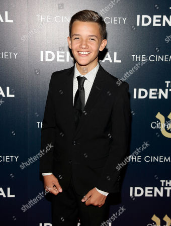 """Actor Noah Urrea attends the premiere of """"The Identical"""" on in New York"""