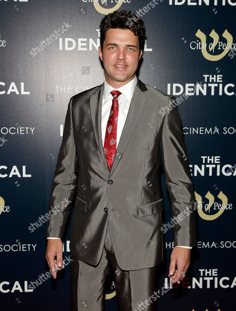 """Actor Blake Rayne attends the premiere of """"The Identical"""" on in New York"""