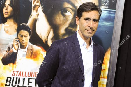 """Screenwriter Alessandro Camon attends the """"Bullet To The Head"""" premiere at AMC Lincoln Square on in New York"""