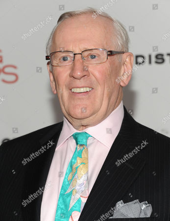 """Len Cariou attends the premiere of """"Playing For Keeps"""" hosted by the Cinema Society, Film District and Chrysler at AMC Loews Lincoln Square on in New York"""