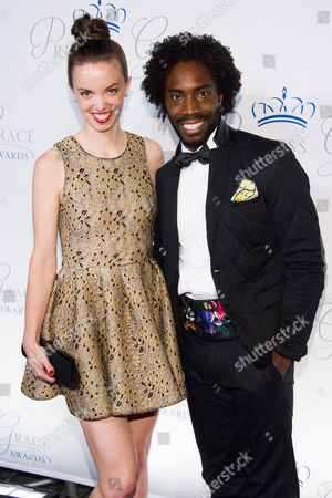 Stock Image of Michelle Dorrance and Aaron Marcellus attend the Princess Grace Awards Gala on in New York