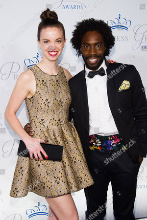 Stock Photo of Michelle Dorrance and Aaron Marcellus attend the Princess Grace Awards Gala on in New York