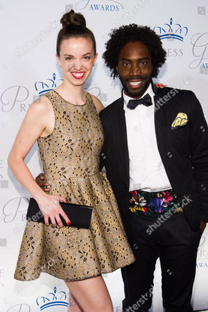 Stock Picture of Michelle Dorrance and Aaron Marcellus attend the Princess Grace Awards Gala on in New York