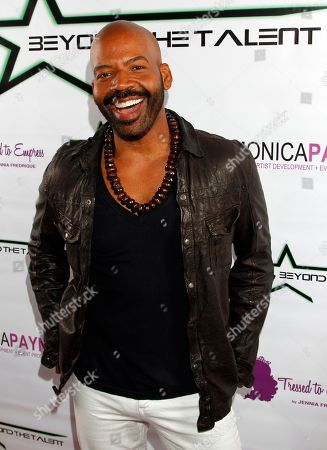"""Fashion and style expert Lloyd Boston seen at Private Screening of """"Beyond the Talent"""", on at Smoke & Mirrors in West Hollywood. California"""