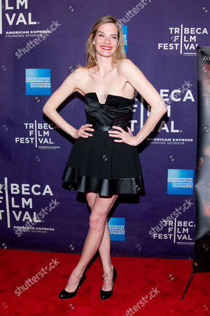 """Nicole Steinwedell attends the premiere of """"Raze"""" during the 2013 Tribeca Film Festival on in New York"""
