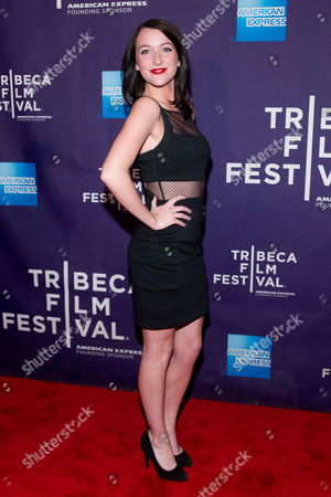 "Bailey Anne Borders attends the premiere of ""Raze"" during the 2013 Tribeca Film Festival on in New York"