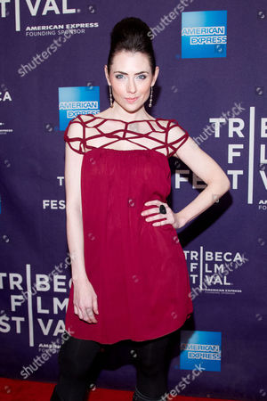 """Adrienne Wilkinson attends the premiere of """"Raze"""" during the 2013 Tribeca Film Festival on in New York"""
