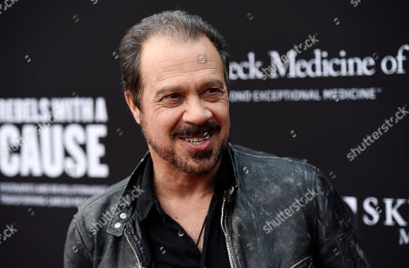 Director Ed Zwick poses at the Rebels With A Cause Gala at The Barker Hangar, in Santa Monica, Calif