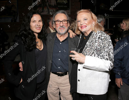 "Xan Cassavetes, Cinematographer Vilmos Zsigmond, Gena Rowlands attends a Special Screening of ""Six Dance Lessons in Six Weeks"" at ArcLight Hollywood on in Los Angeles"
