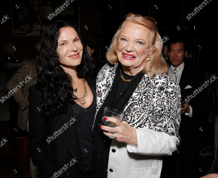 "Xan Cassavetes and Gena Rowlands attends a Special Screening of ""Six Dance Lessons in Six Weeks"" at ArcLight Hollywood on in Los Angeles"