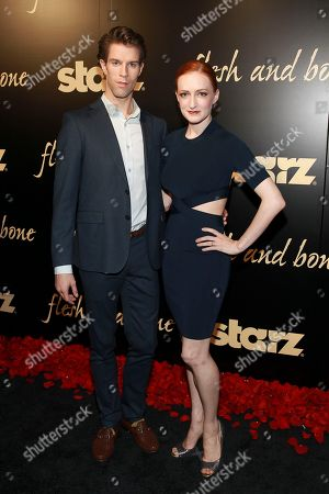 ABT principle dancer James Whiteside and Gillian Murphy seen at the Starz's original limited series Flesh and Bone at the NYU Skirball Center for the Performing Arts on in New York