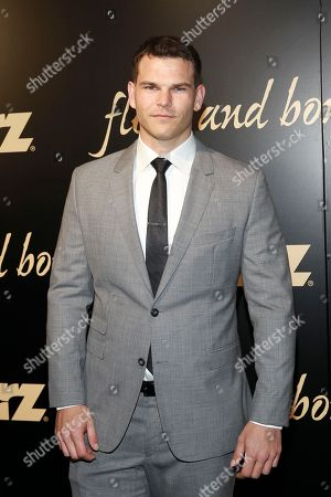 Stock Image of Josh Helman seen at the NYC premiere of Starz's original limited series Flesh and Bone at the NYU Skirball Center for the Performing Arts on in New York