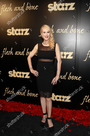 Flesh and Bone creator and executive producer, Moira Walley-Beckett seen at the NYC premiere of Starz's original limited series Flesh and Bone at the NYU Skirball Center for the Performing Arts on in New York