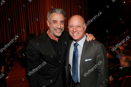 Executive Producer John Melfi and Starz CEO, Chris Albrecht seen at the NYC premiere of Starz's original limited series Flesh and Bone at the NYU Skirball Center for the Performing Arts on in New York