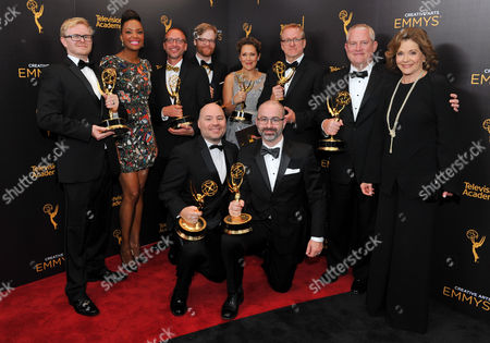 Editorial image of Television Academy's 2016 Creative Arts Emmy Awards - Portraits - Night Two, Los Angeles, USA
