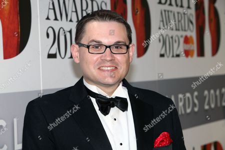Stock Picture of Paul Mealor arrives at the Royal Albert Hall for the Classical BRIT Awards on in London, UK
