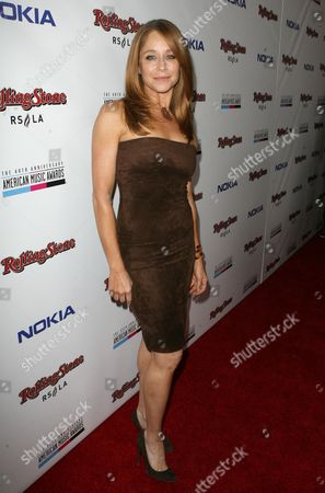 Jamie Luner arrives at the Rolling Stone American Music Awards After Party, on in Los Angeles