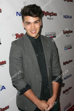 Romeo Testa arrives at the Rolling Stone American Music Awards After Party, on in Los Angeles