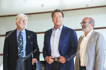 Arnold Schwarzenegger, Jean Michel Cousteau