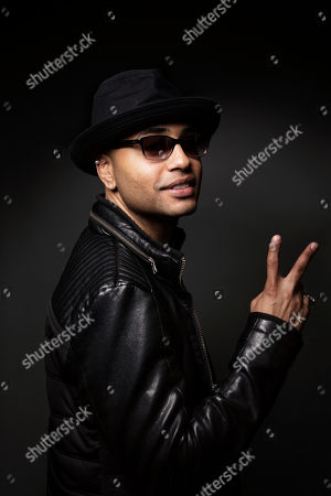 Puerto Rican singer-songwriter Toby Love poses for a portrait, in New York