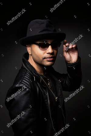 Puerto Rican singer-songwriter Toby Love poses for a portrait on in New York