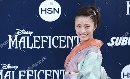 """Aya Ueto arrives at the world premiere of """"Maleficent"""" at the El Capitan Theatre, in Los Angeles"""