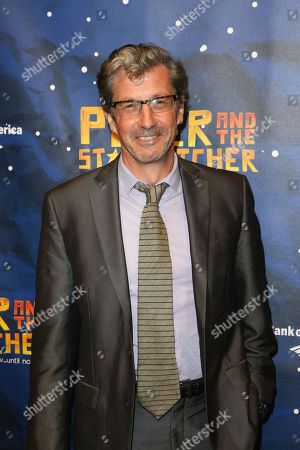 "Actor Charles Shaughnessy poses during the arrivals for the opening night performance of ""Peter and the Star Catcher"" at the Center Theatre Group/Ahmanson Theatre, in Los Angeles, Calif"