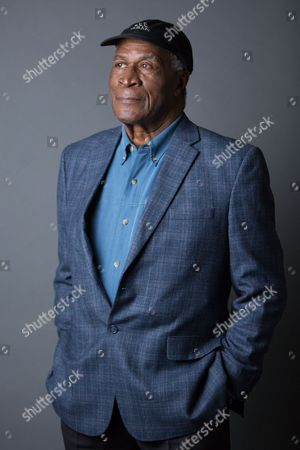 "John Amos poses for a portrait in promotion of the upcoming release of ""Roots: The Complete Original Series"" on Bu-ray, in New York"