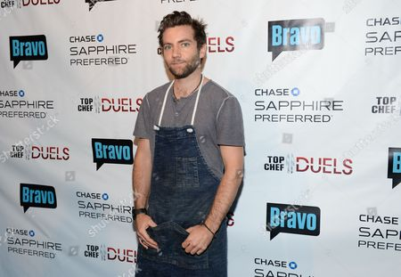 """Chef Marcel Vigneron participates in the """"Top Chef Duels"""" Premiere Tasting Event, hosted by Chase Sapphire Preferred and Bravo, at the Altman Building, on in New York"""