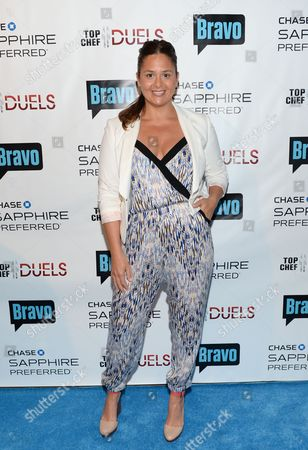 "Chef Antonia Lofaso participates in the ""Top Chef Duels"" Premiere Tasting Event, hosted by Chase Sapphire Preferred and Bravo, at the Altman Building, on in New York"