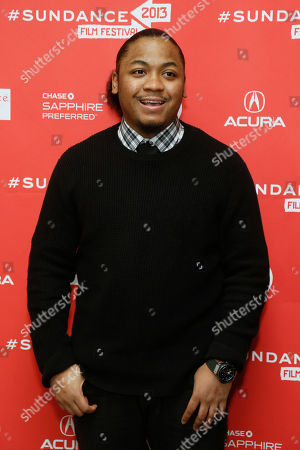 "Stock Picture of Cast member Julito McCullum poses at the premiere of ""The Inevitable Defeat of Mister and Pete"" during the 2013 Sundance Film Festival on in Park City, Utah"