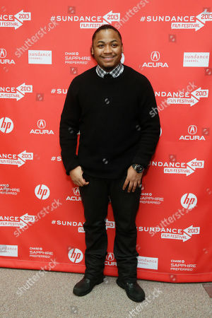 "Cast member Julito McCullum poses at the premiere of ""The Inevitable Defeat of Mister and Pete"" during the 2013 Sundance Film Festival on in Park City, Utah"