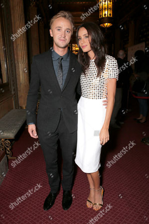 """Tom Felton and Jade Olivia attend Fox Searchlight's Premiere of """"Belle"""" at the Toronto International Film Festival on in Toronto"""