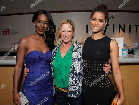"Director Amma Asante, Fox Searchlight President of Production Claudia Lewis and Gugu Mbatha Raw attend Fox Searchlight's Premiere of ""Belle"" at the Toronto International Film Festival on Sunday, September 8th, 2013 in Toronto, Canada"