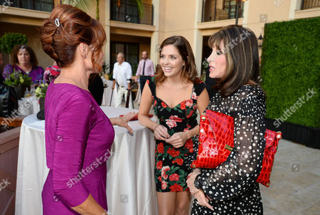 Patsy Pease, and from left, Jen Lilley and Kate Linder attend the Television Academy's 66th Emmy Awards Performers Peer Group Celebration at the Montage Beverly Hills, in Beverly Hills, Calif