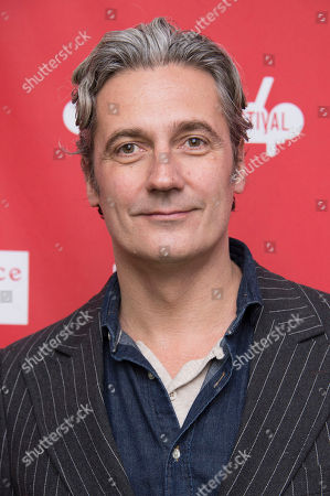 "Stock Photo of Executive Producer Rene Bastian poses for a picture at the premiere for the film ""Cold in July"" during the Sundance Film Festival, in Park City, Utah"