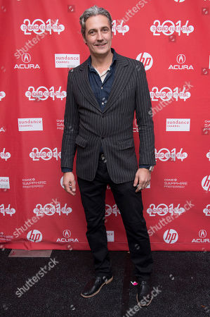 "Executive Producer Rene Bastian poses for a picture at the premiere for the film ""Cold in July"" during the Sundance Film Festival, in Park City, Utah"