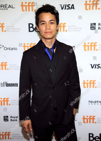 "Shannon Kook attends the premiere of ""Mommy"" on day 6 of the Toronto International Film Festival at the Princess of Wales Theatre, in Toronto"