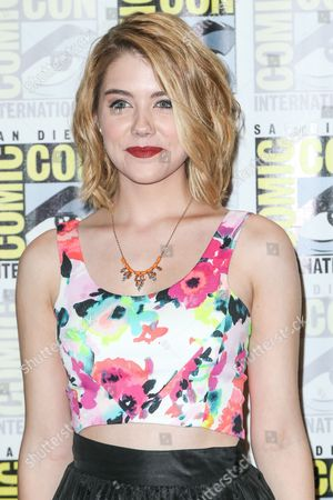 """Gatlin Green attends the """"Heroes Reborn"""" press line on day 4 of Comic-Con International, in San Diego"""