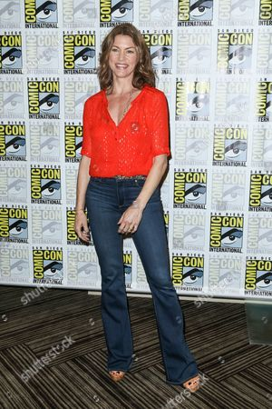 "Rya Kihlstedt attends the ""Heroes Reborn"" press line on day 4 of Comic-Con International, in San Diego"