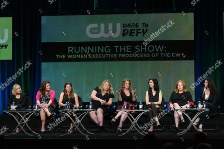 Editorial picture of 2015 Summer TCA - The CW, Beverly Hills, USA