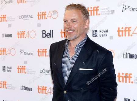 """Callum Keith Rennie attends a premiere for """"Born to be Blue"""" on day 4 of the Toronto International Film Festival at the Winter Garden Theatre, in Toronto"""