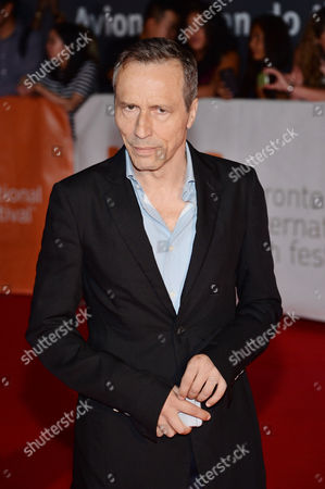 """Stock Image of Michael Wincott attends a premiere for """"Forsaken"""" on day 7 of the Toronto International Film Festival at Roy Thomson Hall, in Toronto"""