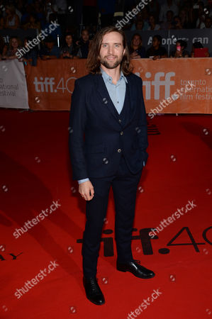 "Aaron Poole attends a premiere for ""Forsaken"" on day 7 of the Toronto International Film Festival at Roy Thomson Hall, in Toronto"