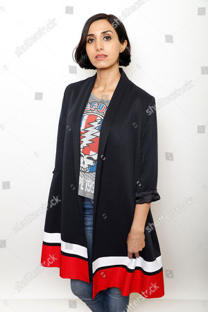 """Actress Narges Rashidi poses for a portrait to promote the film, """"Under the Shadow"""", at the Toyota Mirai Music Lodge during the Sundance Film Festival on in Park City, Utah"""