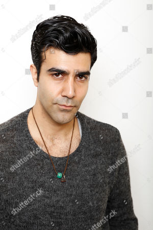 """Stock Image of Actor Bobby Naderi poses for a portrait to promote the film, """"Under the Shadow"""", at the Toyota Mirai Music Lodge during the Sundance Film Festival on in Park City, Utah"""