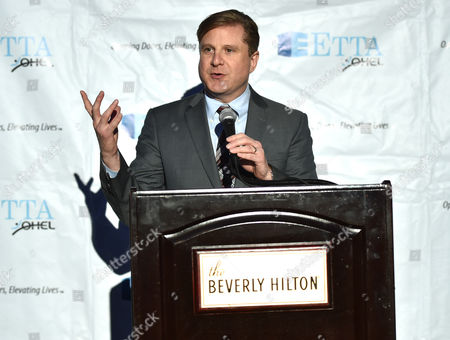 Ron Galperin, Los Angeles City Controller, speaks at the 21st Annual ETTA Gala held at The Beverly Hilton, in Beverly Hills, Calif